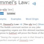 Timmel's Law
